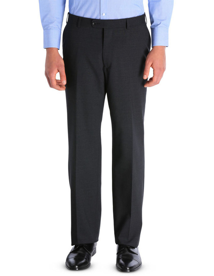 Plain Regular Fit Suit Trouser image 1