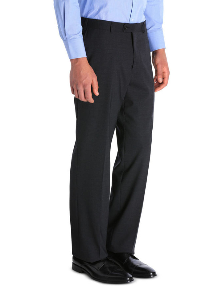 Plain Regular Fit Suit Trouser image 2
