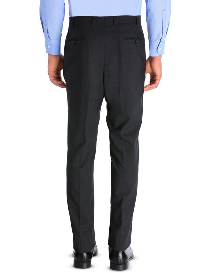 Plain Regular Fit Suit Trouser image 3