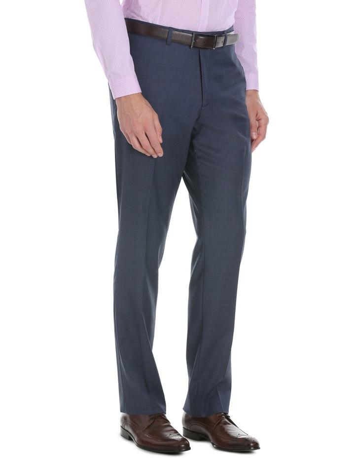 Slim Fit Navy Suit Trouser image 2