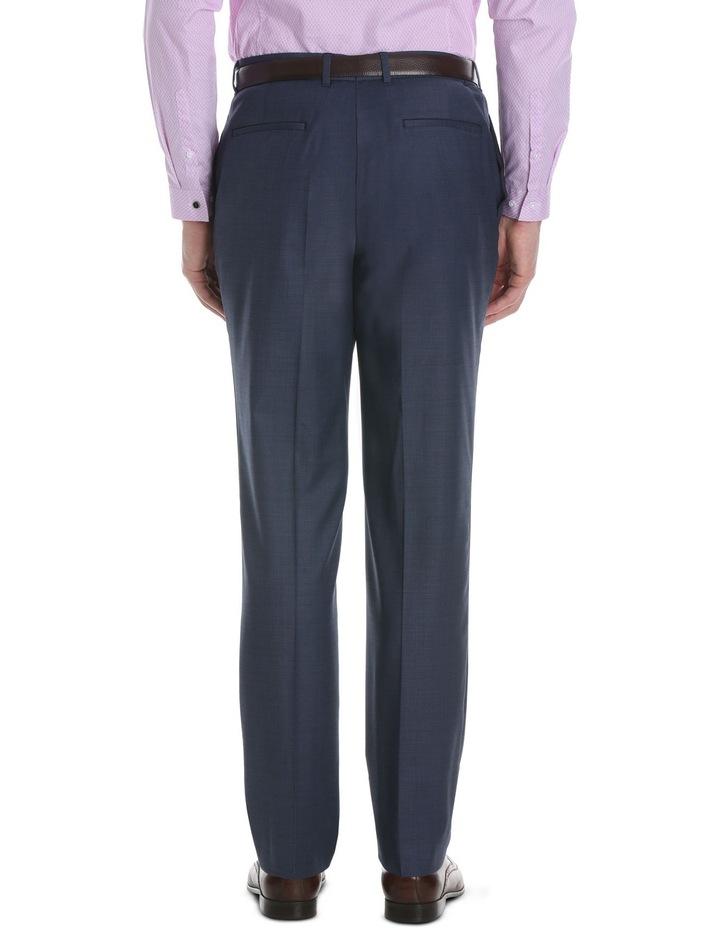 Slim Fit Navy Suit Trouser image 3