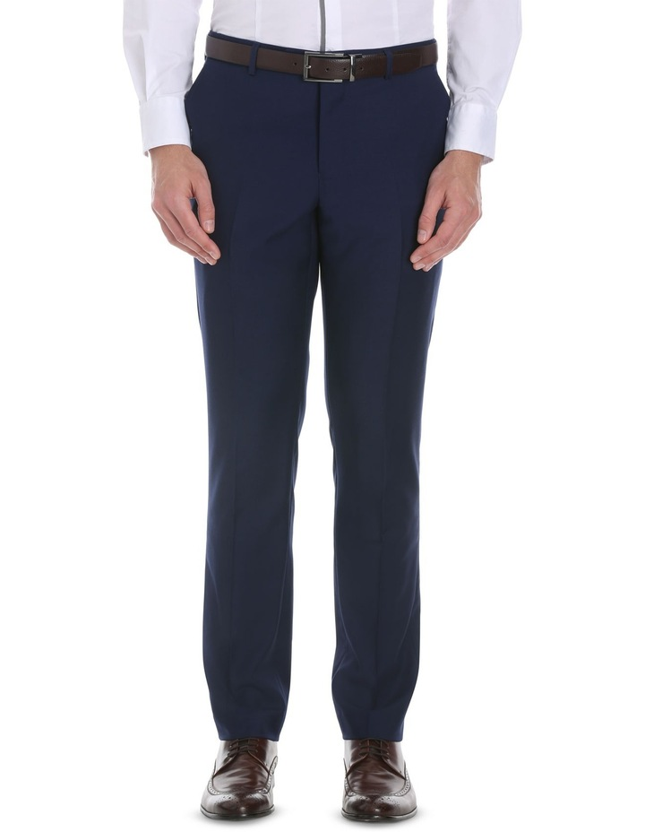 Blue Plain Suit Trouser image 1