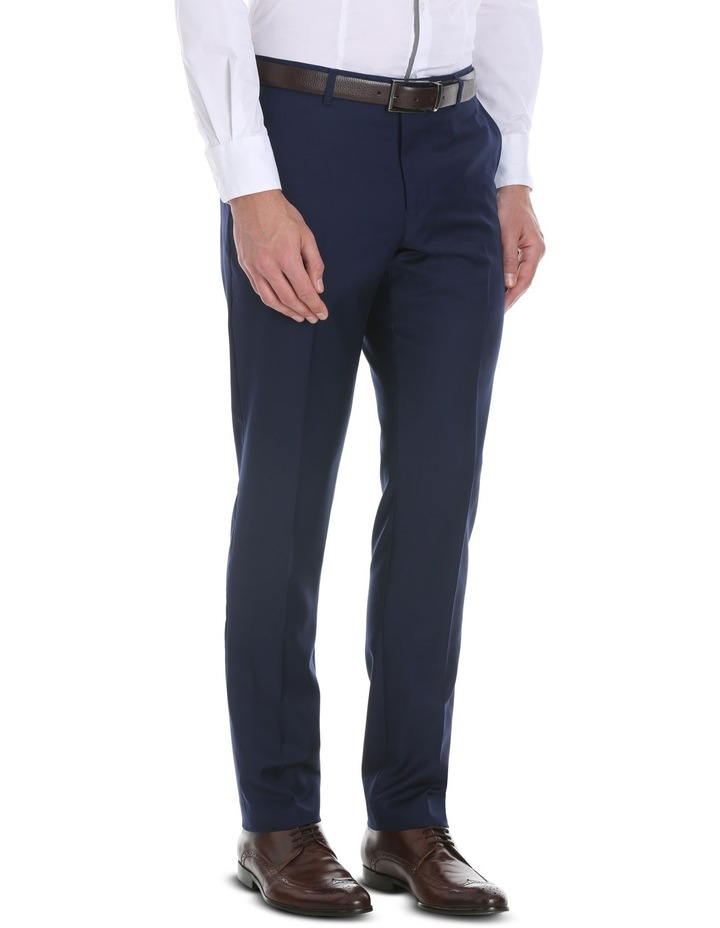Blue Plain Suit Trouser image 2