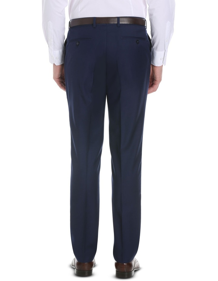 Blue Plain Suit Trouser image 3