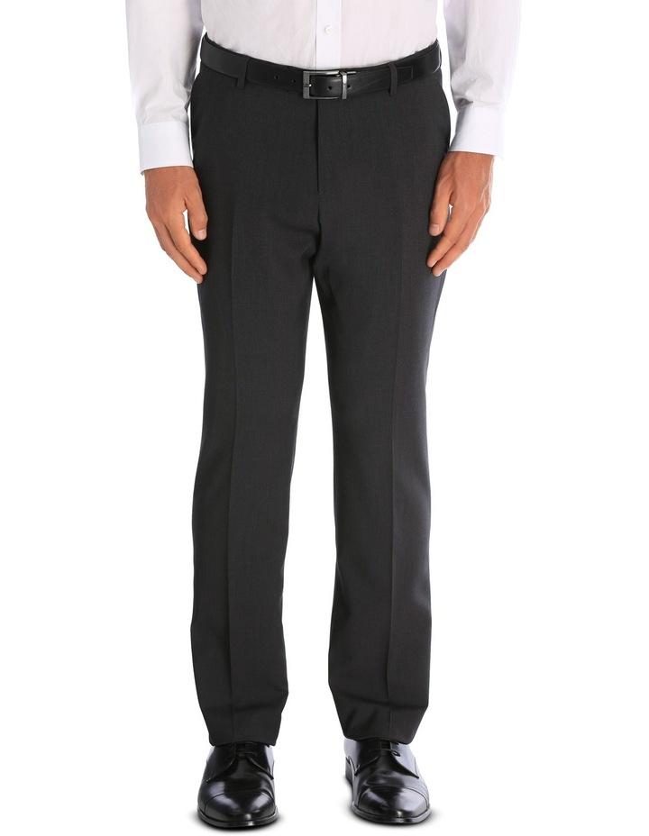Charcoal Nailhead Suit Trouser image 1