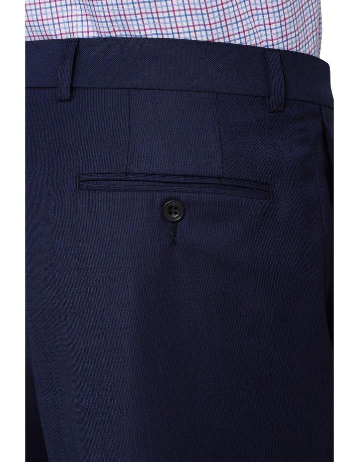 Self Stripe Suit Trouser image 3