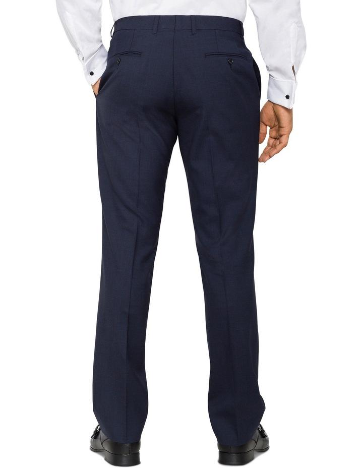 Van Heusen European Fit - Navy Puppytooth Merino Suit Pant image 2