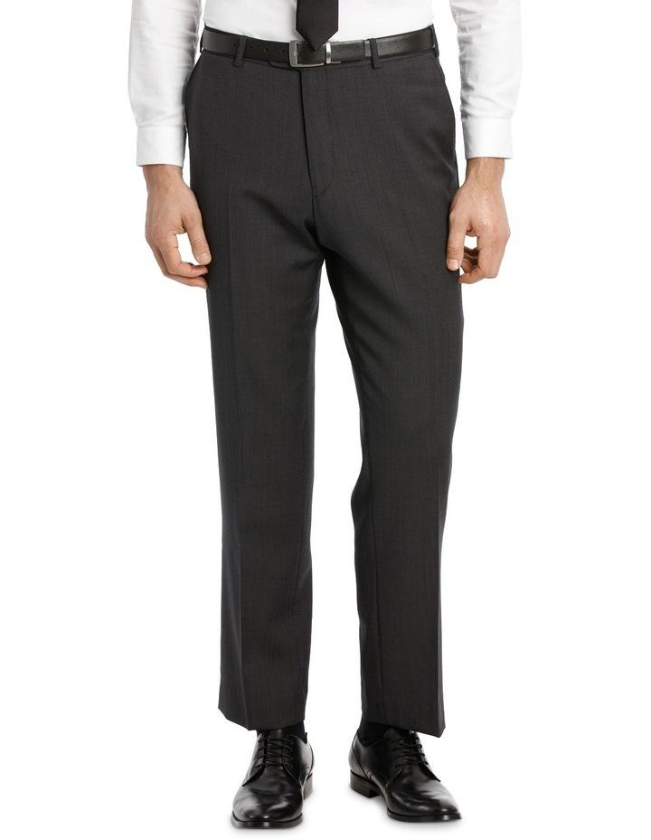 Charcoal Pindot Suit Trouser image 1