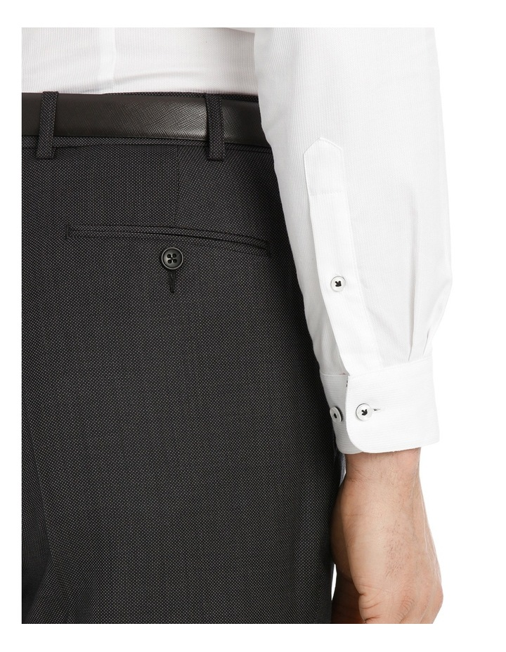Charcoal Pindot Suit Trouser image 4