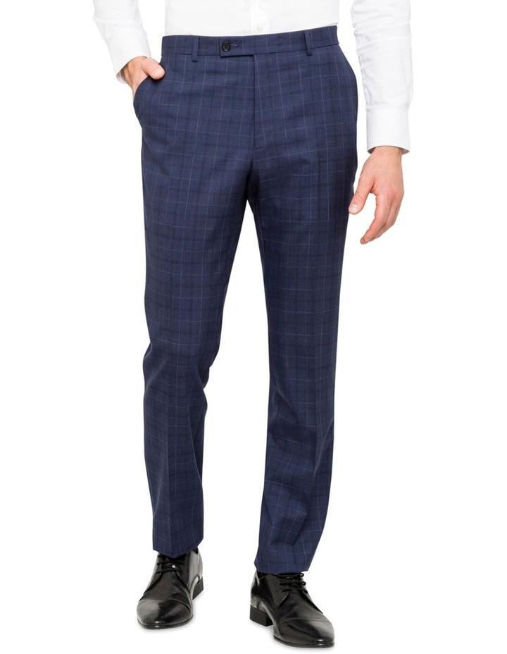 Extreme Slim Fit Suit Pants Blue image 1