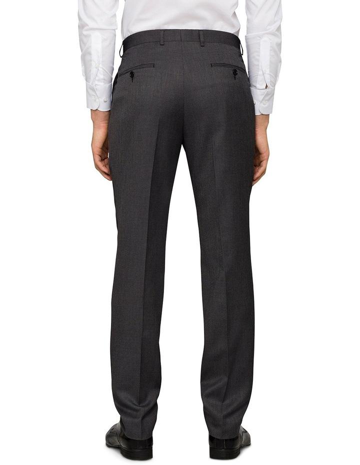 Slim Birdseye Grey Suit Trouser image 2