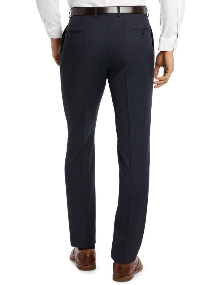 Navy Textured Suit Pant Slim M510_ RNVB image 3
