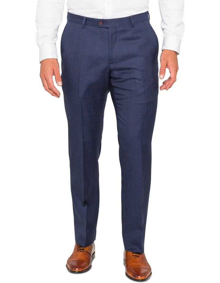 Ink Check Suit Trouser image 1