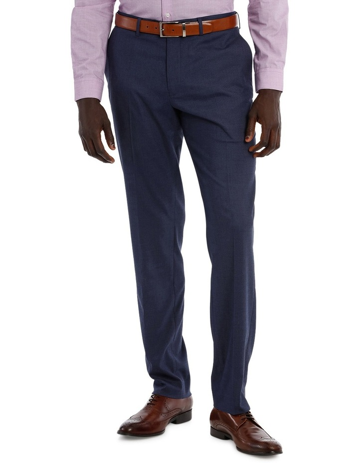 Blue Plain Suit Pant image 1