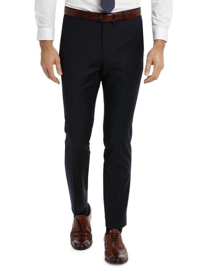 Navy Pinstripe Suit Pant image 1