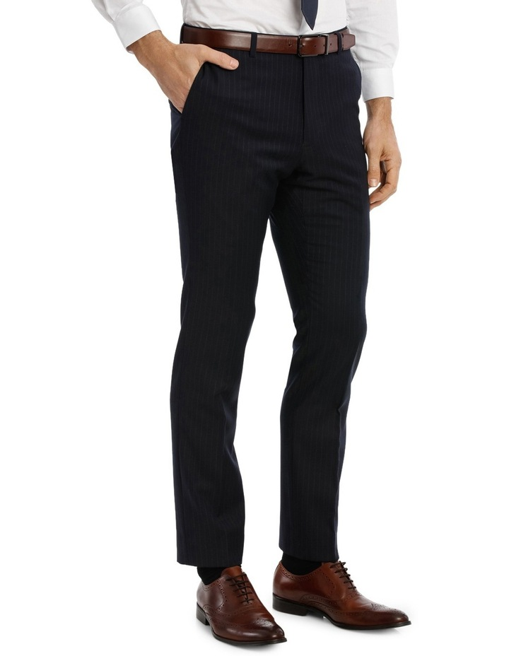 Navy Pinstripe Suit Pant image 2