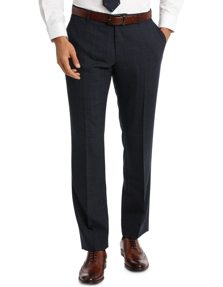 Navy Window Pane Suit Pant VPEM011Z_CNVB image 1