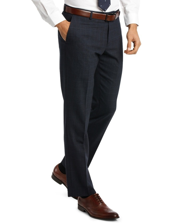Navy Window Pane Suit Pant VPEM011Z_CNVB image 2