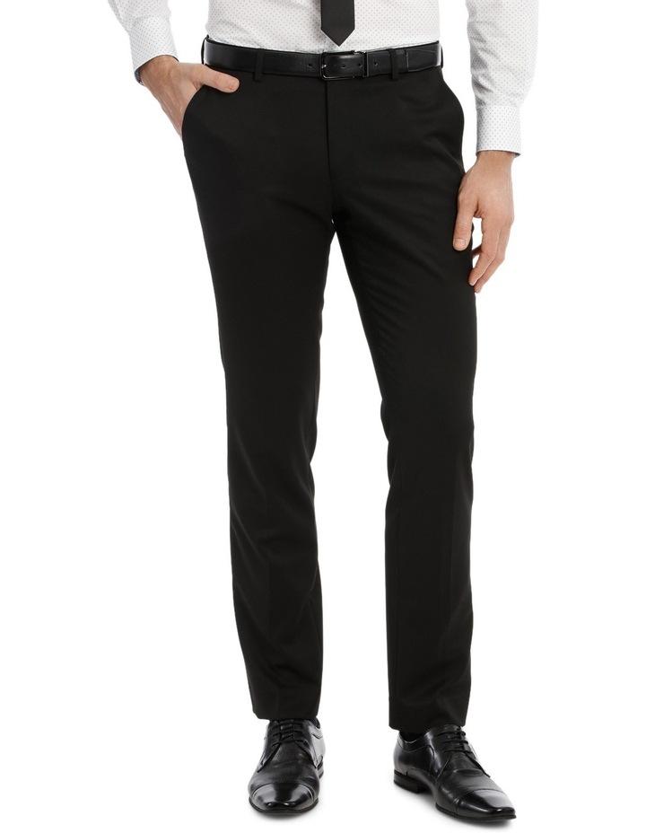 Solid Black Suit Pant image 1