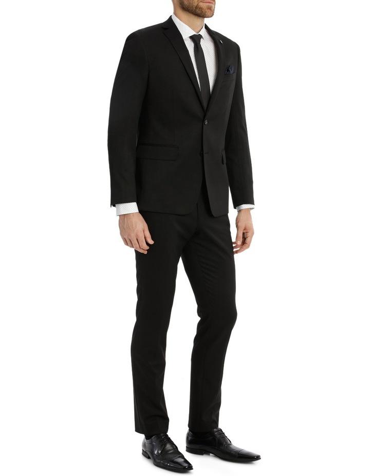 Solid Black Suit Pant image 2