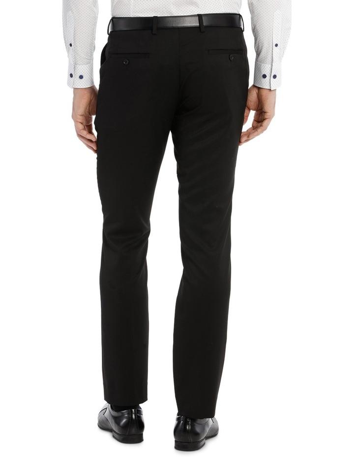 Solid Black Suit Pant image 3