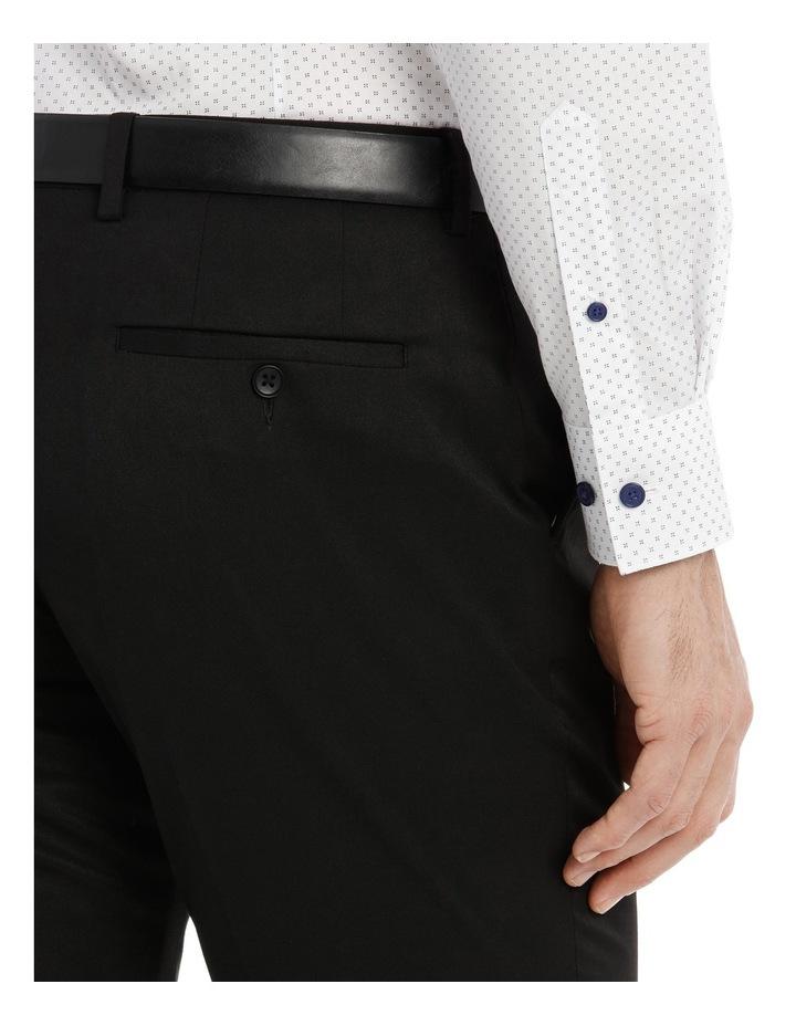 Solid Black Suit Pant image 4