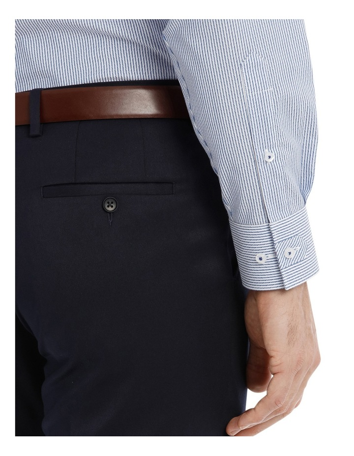 Solid Navy Suit Pant image 4