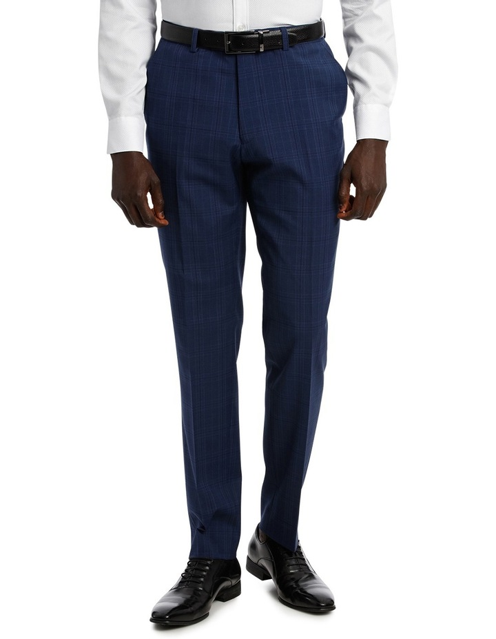 Check Stretch Suit Trouser image 1