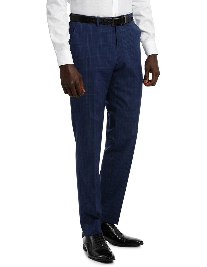 Check Stretch Suit Trouser image 2