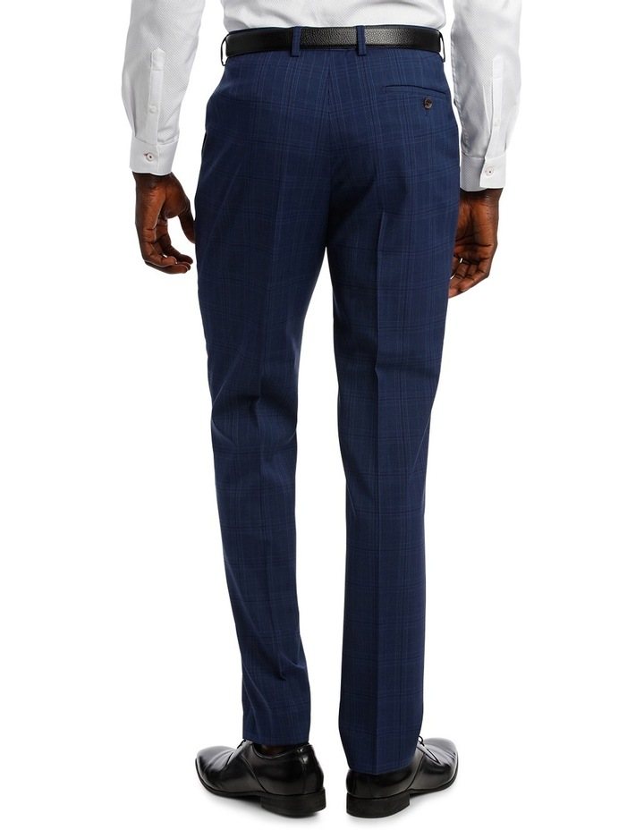 Check Stretch Suit Trouser image 3