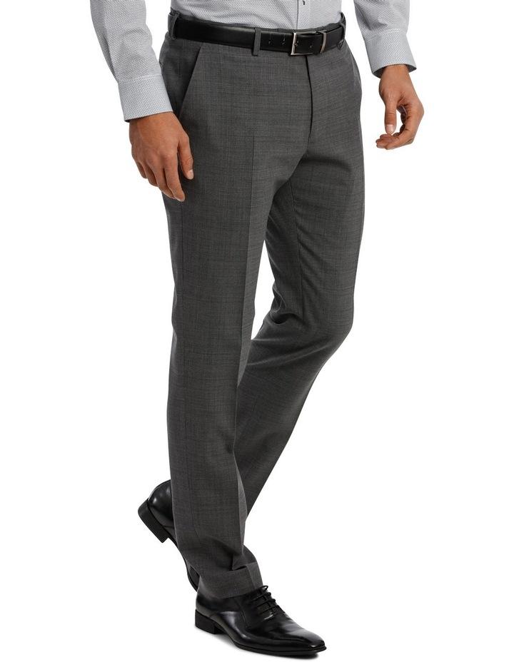 Subtle Check Stretch Suit Trouser image 2