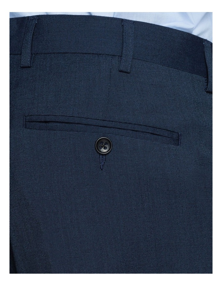 SOLID TEXTURED SUIT TROUSER image 3