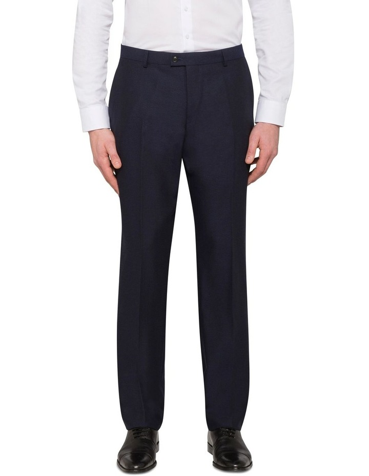 TEXTURED SUIT TROUSER image 1