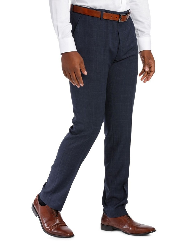 Check Suit Trouser Navy image 2