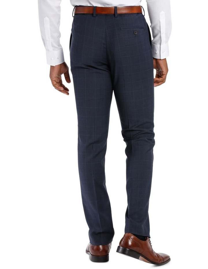 Check Suit Trouser Navy image 3