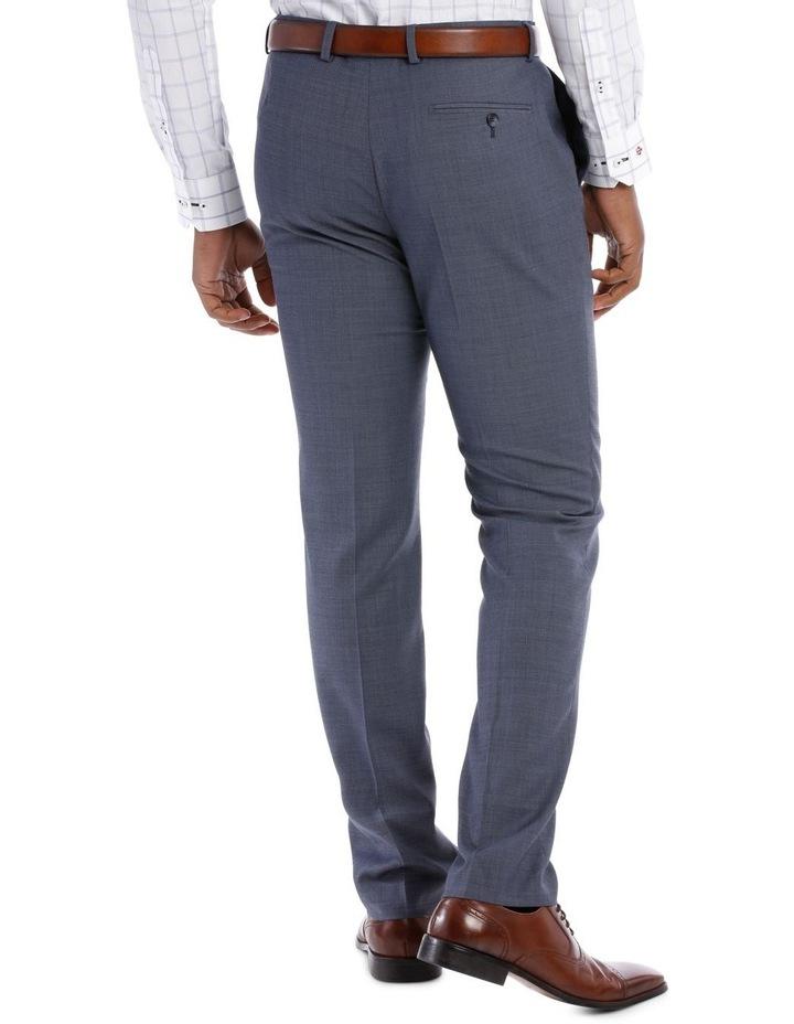 Textured Plain Suit Trouser Steel image 3