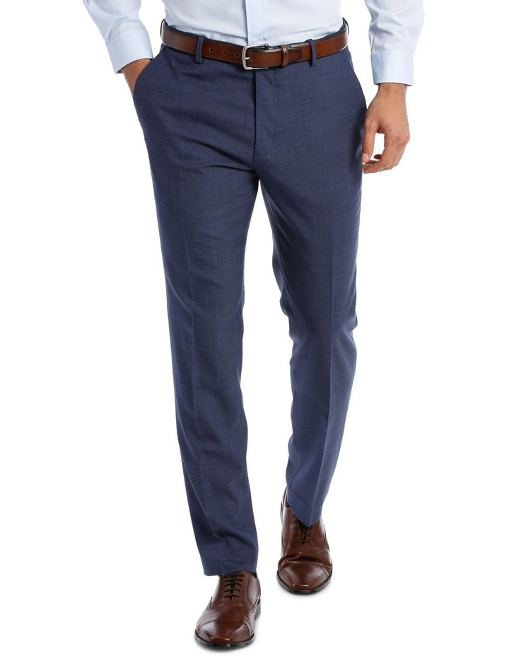 MICRO TWILL SUIT TROUSER BLUE image 1