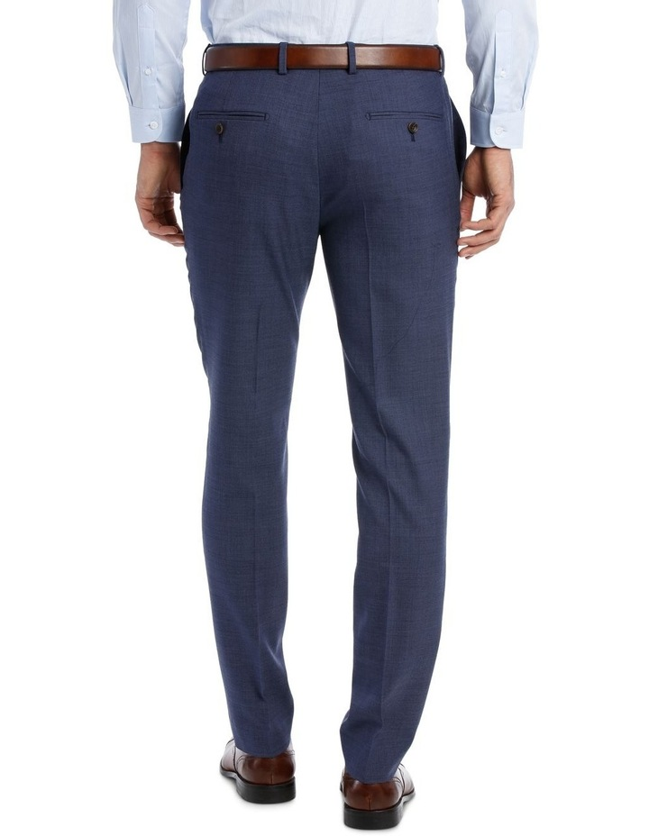 MICRO TWILL SUIT TROUSER BLUE image 3