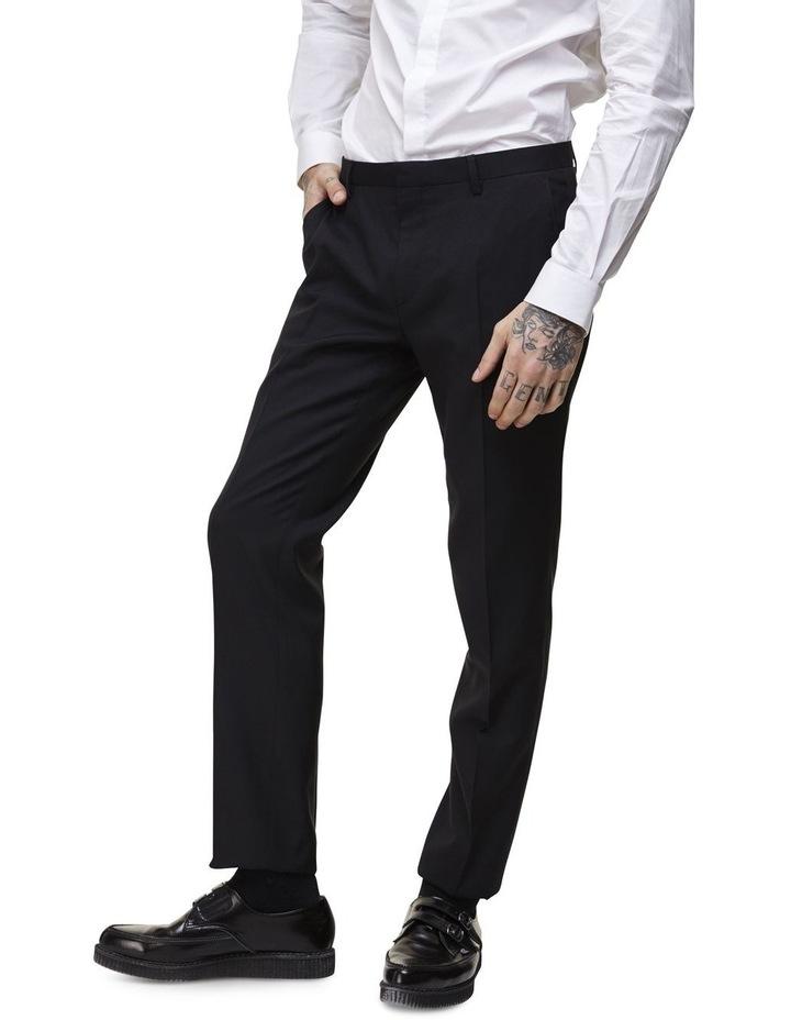 Hemmingway Plain Suit Trouser Black image 1