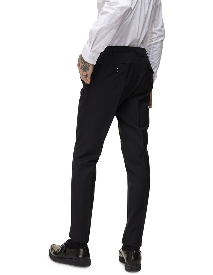 Hemmingway Plain Suit Trouser Black image 2