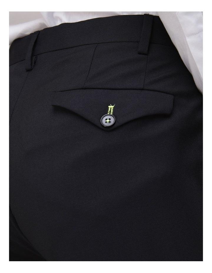 Hemmingway Plain Suit Trouser Black image 3