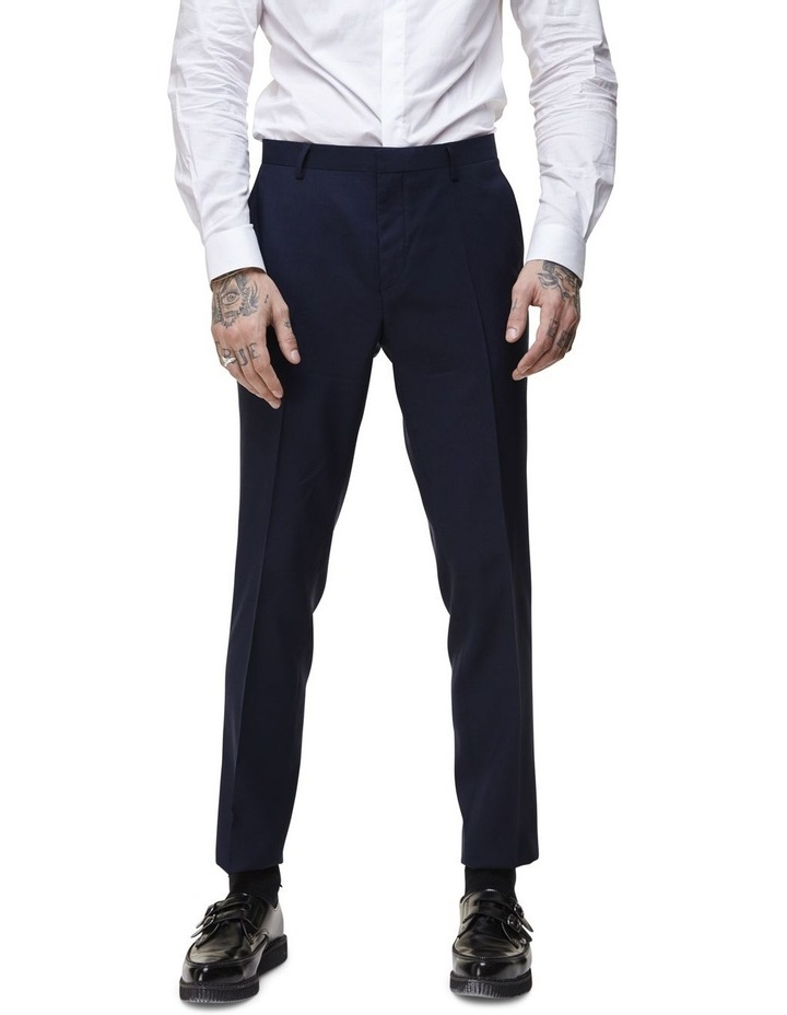 Hemmingway Plain Suit Trouser Navy image 1
