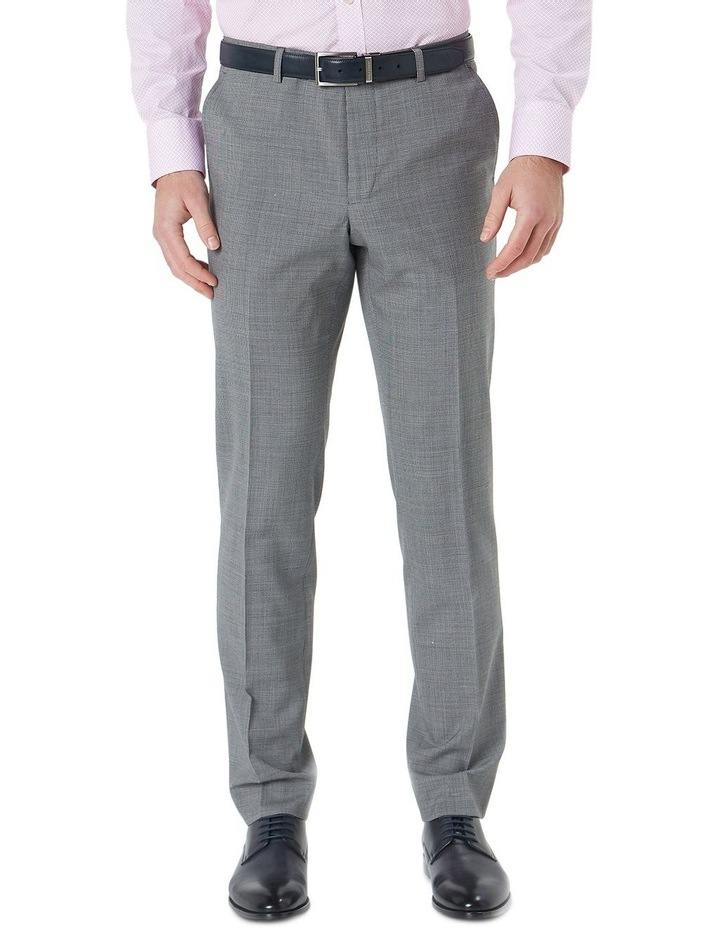 Hearts Grey Micro Texture Wool Suit Trouser image 1