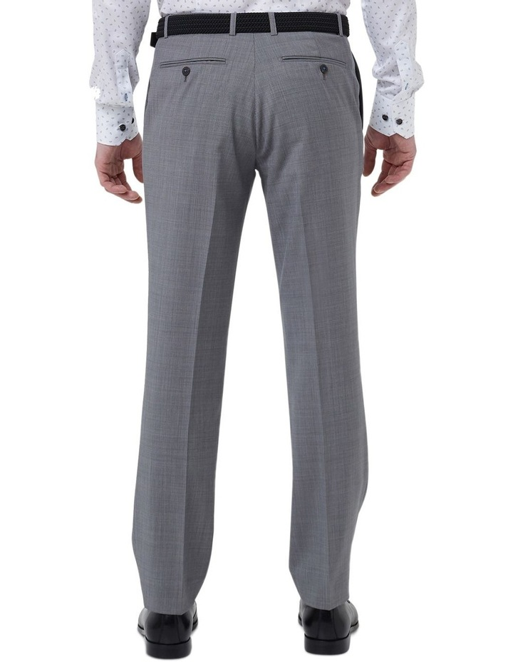 Hearts Grey Micro Texture Wool Suit Trouser image 3