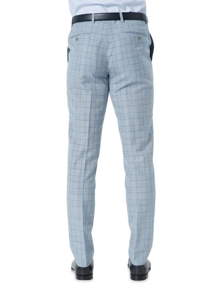 Hearts Light Blue Wool Linen Check Suit Trouser image 2