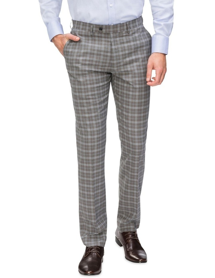Small Check Suit Trouser image 1