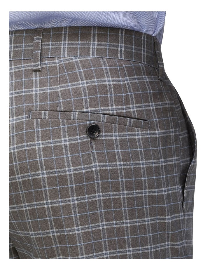 Small Check Suit Trouser image 3