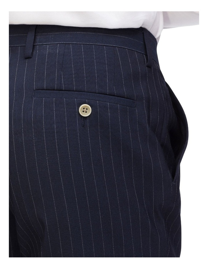 Pinstripe Suit Trouser With Elastic image 3