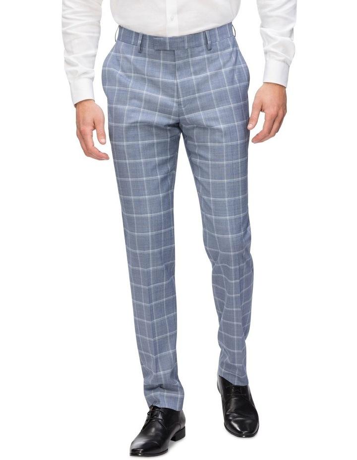 Commuter Fashion Check Suit Trouser image 1