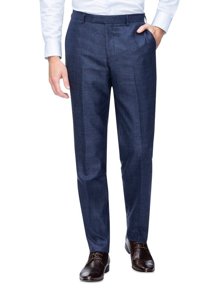 Windowpane Check Suit Trouser image 1